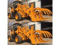 十年特惠厂价直销 加高4.5米抓木机 轮胎式装载机