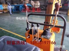 山东泰松TS0.6 履带式挖掘机 小型挖掘机 道路园林的好帮手 行走的挖掘机 挖掘机厂家直供