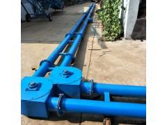 大地工业渣子颗粒密闭管链式输送机  有毒物料管链式输送机
