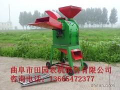 畜牧/养殖业机械  小型养殖设备铡草机,饲养专业铡草机,双罗筛网粉碎铡草机铡草机