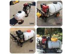 超越 CY-DY 手推式汽油打药机 养殖清洗消毒设备 农用200升药桶打药机