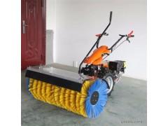 16马力汽油清扫机 多功能15马力手推式滚刷扫雪机 铲雪机