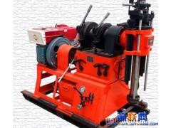 四川广元水文钻机和物探钻机杆钻机视频