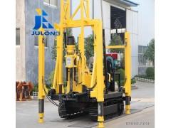 聚龙XYD-3精钢橡胶履带式水井钻机厂家