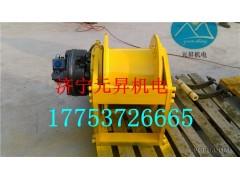 元昇大庆石油钻机5吨液压绞车,试井车用特制卷扬机无磁钢设计生产