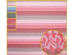 新款彩色女装现货毛织面料经编机100%涤纶中大布料批发订做A112
