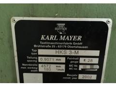 出售2002年德产HKS3-M 180 28E 经编机