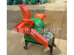 500型秸秆粉碎机 饲料粉碎机揉草机 多功能家用铡草机切草机
