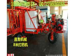 800斤容量三轮自走打药机 高效柴油油喷药设备