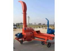 农业畜牧养殖机械设备时产10吨玉米秸秆铡草揉丝机青储高喷切草机