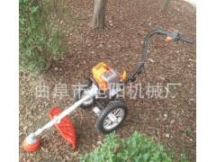 手推式园林杂草清理机 汽油二冲程割草机除草机 小型割灌机