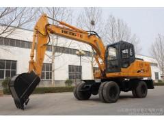 轮式挖掘机全国总销量—恒特HTL135轮式挖掘机详情介绍