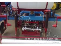 四轮车带盖地膜机械 睿龙牌地膜覆盖机