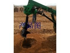 挖坑机结构性能 强劲动力挖坑机 栽植埋桩打坑设备