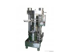 韩国哈那牌液压车载商用山茶籽榨油机械 新型冷榨油机小型香油机