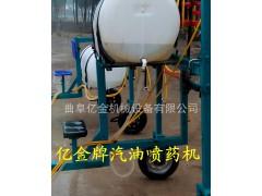 手扶汽油喷药机 多功能高杆喷药机  全自动折叠式喷药设备