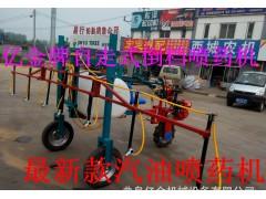 自走式高杆喷药机 高地隙喷药设备 手扶喷药机用途