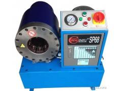汽车编织网波纹管压管机,发动机油管扣压机 发动机油管压管机