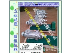 新型高温高压泵 环保节能设备专用达诚泵