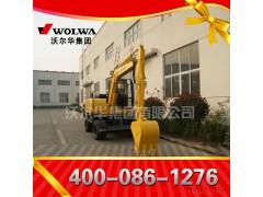 供应山东7吨挖掘机 价格-DLS880-9A 7.2吨轮式挖掘机