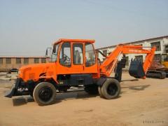 供应DONGLI WYL6.0型180°半旋转轮式挖掘机  东力挖掘机 胶轮挖掘机 厂家直销