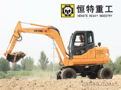轮式挖掘机135