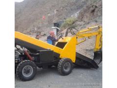兴亚ZM200沙子水泥修桥用铲运机 工程机械装载装运机 兴亚小铲运车