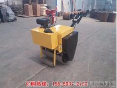 单钢轮小型手扶震动压路机