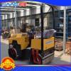 双钢轮880座驾式振动压路机 压实力可达2.7吨的压路机