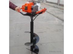 鑫瑞机械地钻种植机 挖坑机 齿轮传动打洞机 栽植移栽机械