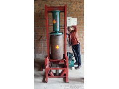 供应全自动黄豆榨油机械销售价格,新式家用黄豆液压榨油机多钱一台,聚财自动打压榨油机