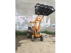 旺   阔9   08小型装载机抓草机   农用多功能小铲车轮式装载机厂家