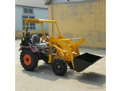 旺阔机械16小型抓木机,工程挖掘挖装机,抓草机,16小铲车,小型装载机