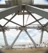 14.5万颗高强螺栓锚住世界首座重载铁路三塔斜拉桥