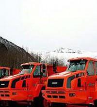 斗山工程机械在挪威承揽20辆铰接式自卸卡车订单