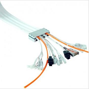 铁氟龙拖链 静音 无尘车间 自动化设备硅胶排管 多排多孔硅胶