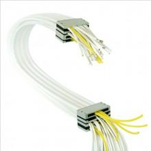 高档柔性无尘拖链 自动化设备用柔性 背光源设备硅胶多排管