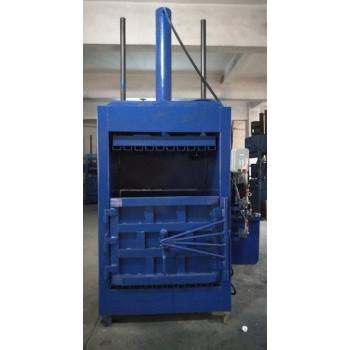 废品站塑料瓶打包机废料液压打包机自动推包