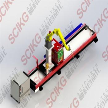 机器人移动行走轴地轨导轨山东厂家供应发那科ABB安川OTC