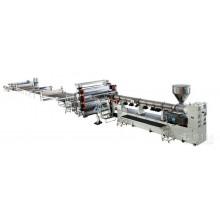 PP、PE、ABS、PVC厚板生产线