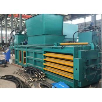 本溪鲁晨160吨 铁皮打包机 废纸压包机卧式机械 鲁晨供应