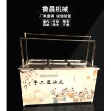 6盒电气两用腐竹油皮机 高产量低耗能 鲁晨供应
