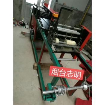 供应山东烟台志明牌多功能制作桃袋的机器