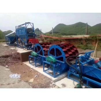 葫芦岛200型制砂洗砂机 水轮洗砂机 制砂机