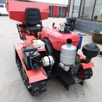 供应座驾式履带36马力旋耕开沟施肥起垄设备