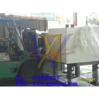 进口二手注塑机械审价需要哪些资料/清关流程