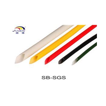 1.2KV硅树脂玻璃纤维套管